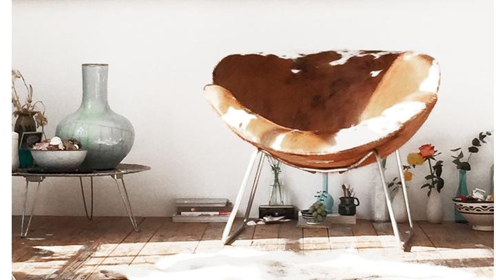 Fauteuil Van Koeienhuid.Project99 Serie 37 Fauteuils Bekleed Met Koeienhuid